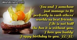 happy birthday dear friend poem