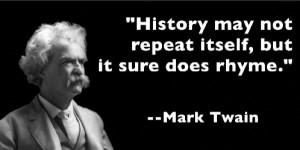 Mark Twain Quotes History