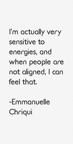 Emmanuelle Chriqui Quotes amp Sayings
