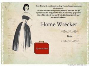 Home Wrecker the Book