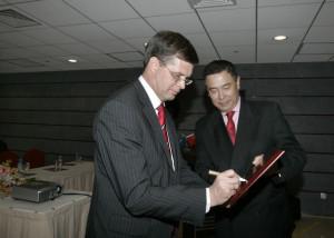 Minister Jan Peter Balkenende Visits Shanghai Jan Peter Balkenende