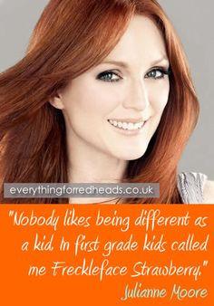 Julianne Moore Famous Redhead