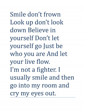 Smile Quotes and Sayings Smile don't by dxr.txr