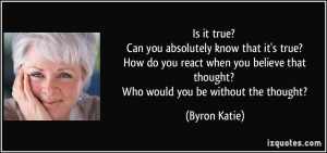 How Do You Know Quotes