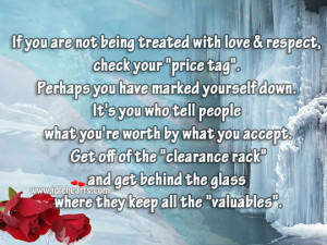 IdleHearts / Quotes / Wise Quotes / Treat Everyone With Love & Respect