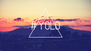 YOLO Triangle Sunset Hill You only live once Memes 1920x1080 hdw.eweb4 ...