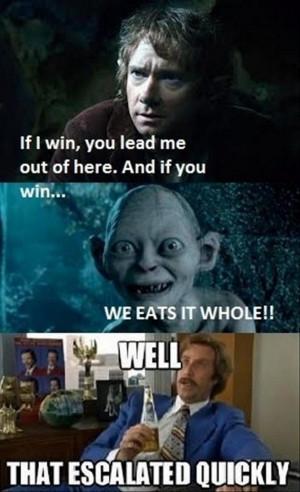 hobbit with gandalf wallpapers