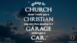 Quote By Billy Sunday