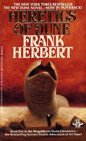 about to finish it god emperor of dune previous book was relatively ...