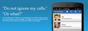 """Ignore No More"""" App For Parents That Don't Want Their Children To ..."""