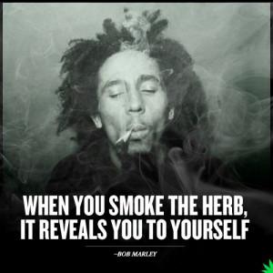 Bob Marley Quotes Herb Weed