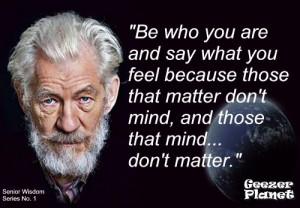 Senior Citizen Wisdom Quotes