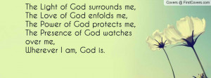 God Watch Over Me Quotes