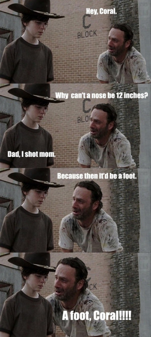 And finally–You also have to love the way that Rick always calls his ...