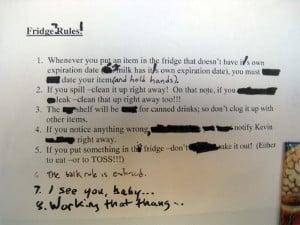 Funny-Office-Fridge-Notes-Fridge-Rules
