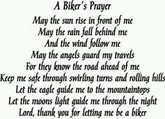 bikers prayer More