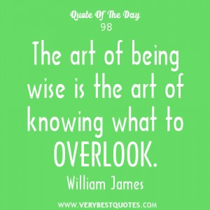 being wise quotes