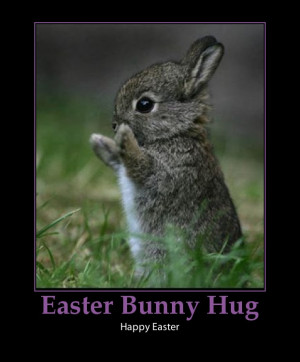 Easter-Bunny-cute easter poems for children- -Hug-cute-easter bunny ...