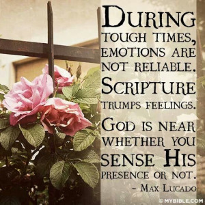 MAX LUCADO This goes right along with my Bible study this week. God is ...
