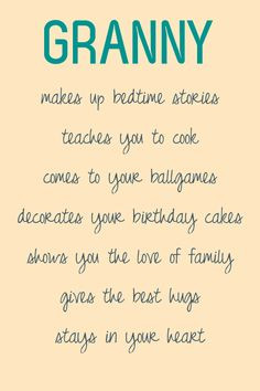 Grandma's Cousins-(Nana's, Memo's, Mama's, etc.) Box Quotes