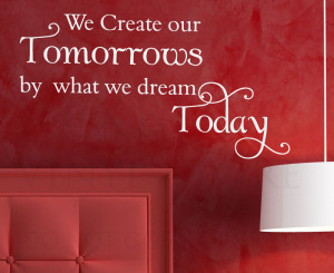 Details about Wall Decal Art Vinyl Quote Sticker Mural Adhesive Dream ...