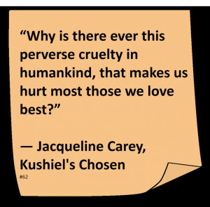 Jacqueline Carey ♥ #Quote #Author #Love
