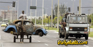 Funny Towing