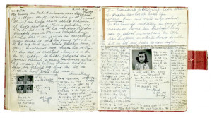 ... more with my life, except for this Anne Frank's diary in the way