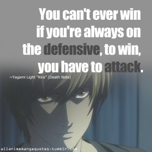 Death Note Light Quotes