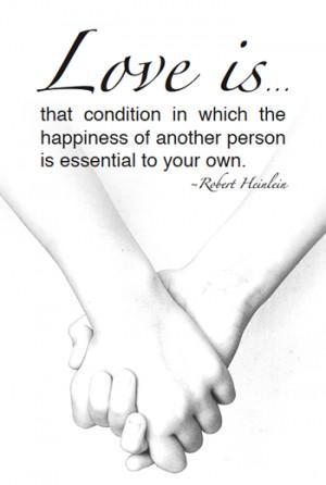 Free Printable Love Quote – Robert Heinlein