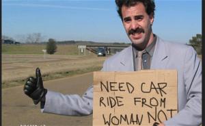 picture of Sacha Baron Cohen playing Borat, his Kazakh character ...