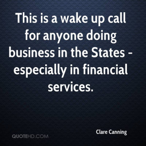 This is a wake up call for anyone doing business in the States ...
