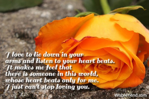 Sad Love Quotes For Your Boyfriend From The Heart I love to lie down ...