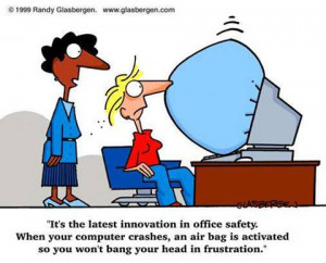 Thread: Funny computer and office related cartoons