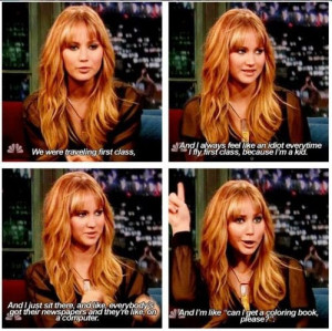 Jennifer Lawrence is hilarious