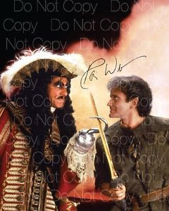Details about Robin Williams signed Hook patch mork 8X10 photo picture ...