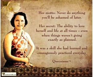 She courageously practiced this skill each day.
