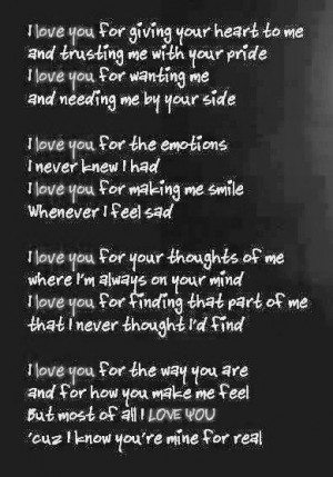 Amazing Love Quotes About Him: Love Quotes About Him In Dark Black ...