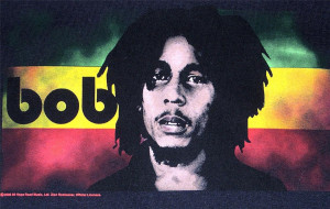 Bob Marley Lion Black Shirt