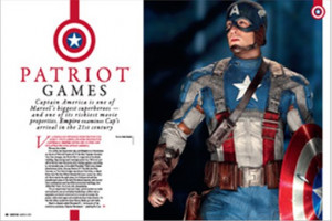 ... Joe Johnston and of course Cap himself Chris Evans. Here are some