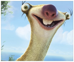 Sloth Off Ice Age