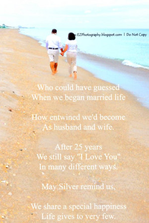 Christian 25Th Wedding Anniversary Quotes