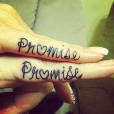 Best Friends Pinky Promise Tattoo