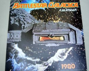Vintage 1980 Battlestar Galactica C alendar ...