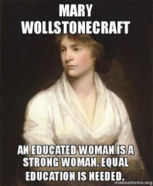 Mary Wollstonecraft - Google+