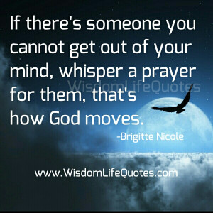 It's the blessing of God who give a solution to resolve your problem ...