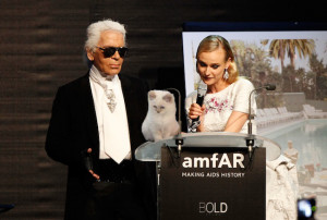 Karl Designed An Entire Collection Around Choupette's Eyes