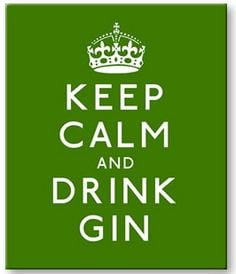 Gin Quote Print