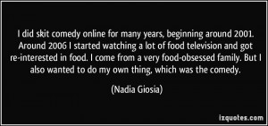 More Nadia Giosia Quotes