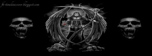 Dark Gothic Quotes And Sayings Dark angel timeline cover,